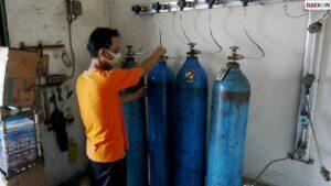 Raup Untung Rp 300 Juta, Polisi Amankan 2 Tersangka Penjual Oksigen Yang Naikkan Harga 2 Kali Lipat