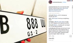 Siap-Siap, Mulai Tahun Depan Pelat Nomor Kendaraan Pribadi Di Indonesia Berubah Jadi Warna Putih