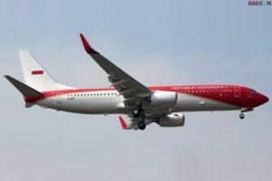 Pesawat Kepresidenan Berubah Jadi Merah Putih, Warganet Heboh Dengan Biaya Cat Ulang Capai Rp 2 Miliar