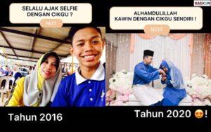 Kisah Pemuda Mempersunting Gurunya Yang Dulu Kerap Diajak Foto
