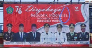 Viral Baliho Dirgahayu Indonesia Salah Tulis, Warganet: Waktunya Ganti Pegawai Kominfo