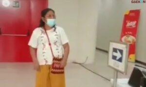 Merasa Sehat, Emak-Emak Di Bandara Kualanamu Ngamuk Saat Hasil Tes PCR Positif Covid-19
