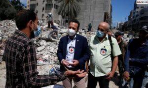Balas Balon Api, Israel Bom Situs Hamas Di Gaza Palestina
