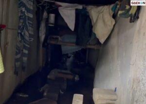 Heboh Penemuan Kamar Di Dalam Gorong-Gorong Lengkap Dengan Kasur Dan Pakaian