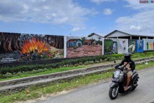 Ditengah Maraknya Penghapusan Mural, Mural Di Bali Ini Justru Dibuat Pemerintah Untuk Kritik Masyarakat