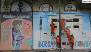 Satpol PP Hapus 2 Mural Kritis Di Yogyakarta, Pelukis Mural: Seniman Juga Rakyat, Berhak Bersuara