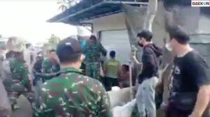 Sejumlah Prajurit TNI Hajar Warga Bali, Dandim: Itu Bentuk Pembelaan Anggota Saya