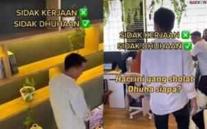 Viral, Bos Di Sebuah Kantor Sidak Bagi-Bagi Uang Ke Para Pegawainya