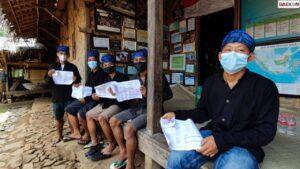 Warga Suku Baduy Luar Mulai Terima Suntikan Vaksin Covid-19
