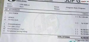 Unggah Slip Gaji Di Medsos, Lisa Amelia Dipecat Hingga Harus Bayar Denda