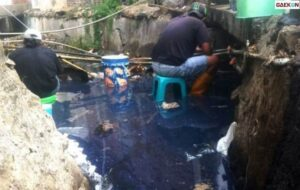 Sungai Di Bojonegoro Mendadak Keruh, Pipa Minyak Pertamina EP Cepu Field Bocor
