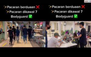 Viral, Sepasang Kekasih Dikawal 7 Bodyguard Saat Kencan