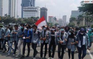 3 Hari Tak Digubris, Siang Ini BEM SI Demo Di Depan Gedung Merah Putih KPK