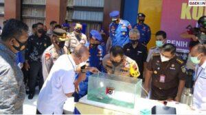 Kasus Penjualan Benih Lobster Ilegal Di Jateng, Polisi Berhasil Amankan 9.320 Benih Lobster