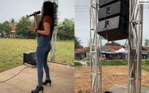 Viral, Acara Musik Dangdut Tanpa Penonton Di Tengah Sawah
