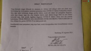 Tulis Pernyataan Tak Percaya Covid-19, Dokter Di Enrekang Terancam Dipecat