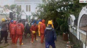 1 Orang Peziarah Di Kompleks Makam Syekh Burhanuddin Tewas Tertimpa Pohon