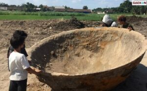 Heboh Penemuan Wajan Raksasa Di Bantul, Diduga Peninggalan Belanda