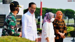 Resmikan Proyek Hingga Jalan, Jokowi Kunjungan Kerja Ke NTT