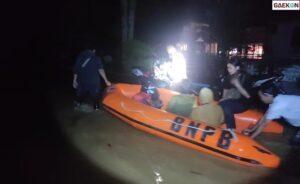 Banjir Kapuas Hulu, Internet Gangguan Hingga Jalan Akses Transportasi Terendam Air