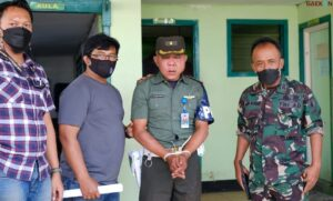 Minta Uang Untuk HUT TNI Ke-71, TNI Gadungan Di Batu Babak Belur Dihajar Warga