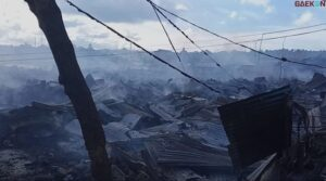 300 Unit Rumah Hangus, Polisi Akan Usut Penyebab Kebakaran Di Manokwari